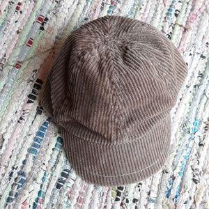 Other - Brown Corduroy Baby Hat Cap